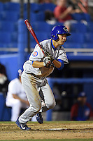 Daytona Cubs outfielder Pin-Chieh Chen (20) during a game against the Dunedin Blue Jays on April 16, 2014 at Florida Auto Exchange Stadium in Dunedin, Florida.  Dunedin defeated Daytona 5-1.  (Mike Janes/Four Seam Images)