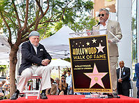 LOS ANGELES, CA. July 31, 2019: Stacy Keach & Matt LeBlanc at the Hollywood Walk of Fame Star Ceremony honoring Stacy Keach.<br /> Pictures: Paul Smith/Featureflash