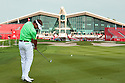 Joost Luiten (NED) ahead of the Abu Dhabi HSBC Golf Championship played at Abu Dhabi Golf Club 16-19 January 2014.(Picture Credit / Phil Inglis)