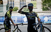 Esteban Chaves (COL/Mitchelton-Scott) feeling strong at the race start in Nice<br /> <br /> Stage 2 from Nice to Nice (186km)<br /> <br /> 107th Tour de France 2020 (2.UWT)<br /> (the 'postponed edition' held in september)<br /> <br /> ©kramon