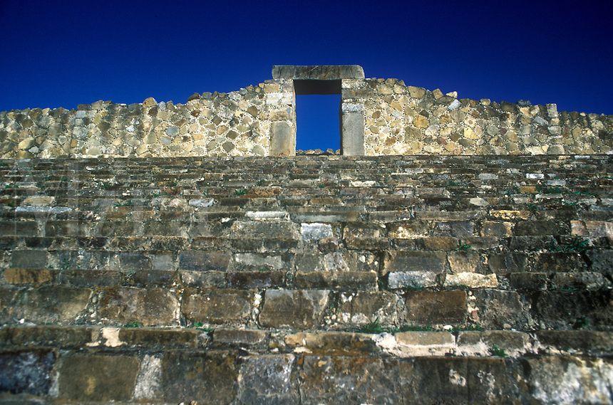 Monte Alban, Zapotec ruins in the Mexican state of Oaxaca