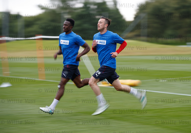 Danny Wilson and Joe Dodoo