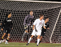 Men's NCAA Soccer, Oakland Michigan vs. Ohio State University, 10 10 2007 At OSU