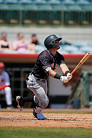 Jupiter Hammerheads Cameron Baranek (8) bats during a Florida State League game against the Florida Fire Frogs on April 11, 2019 at Osceola County Stadium in Kissimmee, Florida.  Jupiter defeated Florida 2-0.  (Mike Janes/Four Seam Images)