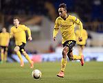 Dortmund's Pierre-Emerick Aubameyang in action during the Europa League match at White Hart Lane Stadium.  Photo credit should read: David Klein/Sportimage