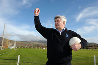 Mick O'Dwyer  in Waterville.<br /> Photo Don MacMonagle