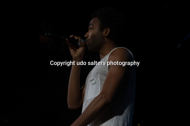 Childish Gambino Performs onstage during Power 105.1's Powerhouse 2014 at Barclays Center, Brooklyn, NY