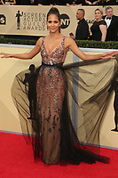 LOS ANGELES, CA - JANUARY 21: Halle Berry at The 24th Annual Screen Actors Guild Awards at The Shrine Auditorium on January 21, 2018 in Los Angeles, California. Credit: FSRetna/MediaPunch