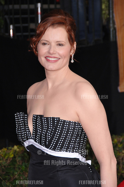 GEENA DAVIS at the 12th Annual Screen Actors Guild Awards at the Shrine Auditorium, Los Angeles..January 29, 2006  Los Angeles, CA..© 2006 Paul Smith / Featureflash
