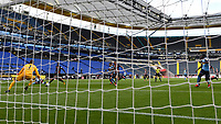 16th May 2020, Commerzbank-Arena, Frankfurt, Germany; Bundesliga football, Eintracht Frankfurt versus Borussia Moenchangladbach;  Goal scored, for 0:1 by Alassane Plea Borussia Moenchengladbach