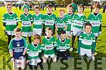 The Killarney Legion U10 team taking part in  the John Lynch memorial U10 tournament in Connolly Park  on Saturday.
