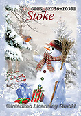 John, CHRISTMAS SANTA, SNOWMAN, WEIHNACHTSMÄNNER, SCHNEEMÄNNER, PAPÁ NOEL, MUÑECOS DE NIEVE, paintings+++++,GBHSSXC50-1038B,#x#