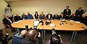 Hooded men Francis McGuigan speaks during a Amnesesty International press conference in Belfast, Northern Ireland, Tuesday 20th of March 2018. The European Court of Human Rights (ECHR) has rejected a request to find that men detained during internment in Northern Ireland suffered torture. The so-called hooded men claimed they were subjected to torture by the British army in 1971. Lawyers for the men have called on the Irish government to appeal. In 1978, the European Court of Human Rights held that the UK had carried out inhuman and degrading treatment. Photo/Paul McErlane