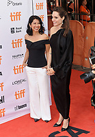 11 September 2017 - Toronto, Ontario Canada - Loung Ung, Angelina Jolie. 2017 Toronto International Film Festival - &quot;First They Killed My Father&quot; Premiere held at Princess of Wales Theatre. <br /> CAP/ADM/BPC<br /> &copy;BPC/ADM/Capital Pictures