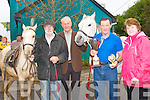 ..HORSES: Dan Sheehy with the winning Best Mare and Pony on Sunday with L-r: Eddie Hayes (Tralee), Mike Allen (Lixnaw), Dan Sheehy (Annascaul) and Mary Allen (Lixnaw), at The Ballinclar Horse and Sheep fair in Annascaul on Sunday...