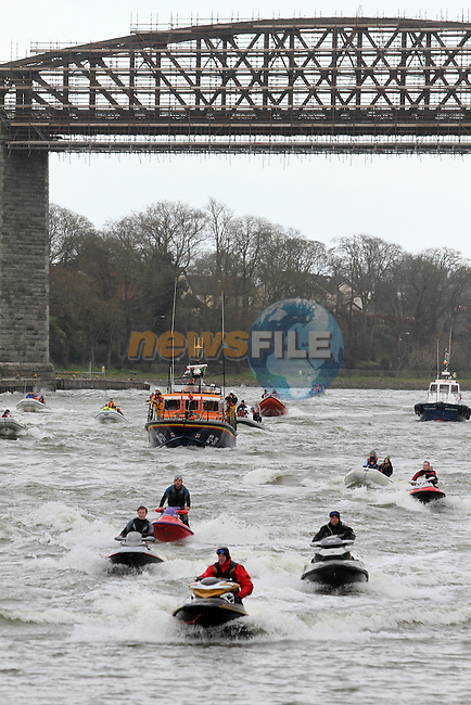 IWAI Power Boat Branch visit to Drogheda...(Photo credit should read Jenny Matthews/NEWSFILE)...