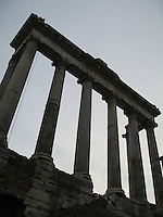 Ruins at the Roman Forum