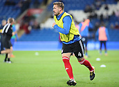 31st October 2017, Cardiff City Stadium, Cardiff, Wales; EFL Championship football, Cardiff City versus Ipswich Town; Luke Chambers (C) of Ipswich Town warming up