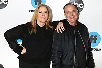 LOS ANGELES - FEB 5:  Mary McCormack, Clark Gregg at the Disney ABC Television Winter Press Tour Photo Call at the Langham Huntington Hotel on February 5, 2019 in Pasadena, CA.<br /> CAP/MPI/DE<br /> ©DE//MPI/Capital Pictures
