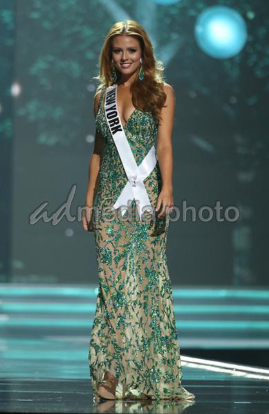 11 May 2017 - Las Vegas, Nevada -  Miss New York, Hannah Lopa.  The 2017 Miss USA Preliminary Competition at Mandalay bay Event Center at Mandalay Bay resort and Casino.  Photo Credit: MJT/AdMedia
