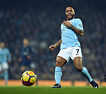 Raheem Sterling of Manchester City during the premier league match at the Etihad Stadium, Manchester. Picture date 16th December 2017. Picture credit should read: Robin ParkerSportimage