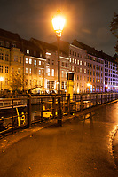 A night tour in Berlin