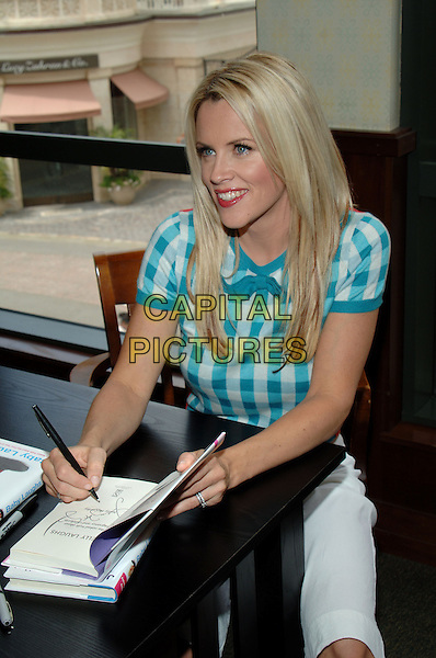 "7 May 2005 - Los Angeles, CA - Jenny McCarthy.  .In-store signing for her book ""Baby Laughs"" held at the Barnes & Noble at The Grove...Photo credit: Jacqui Wong/AdMedia"