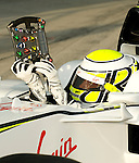 02 Apr 2009, Sepang Circuit, Kuala Lumpur, Malaysia --- Brawn GP Formula One Team driver Jenson Button of Great Britain during the 2009 Fia Formula One Malasyan Grand Prix at the Sepang circuit near Kuala Lumpur. Photo by Victor Fraile --- Image by © Victor Fraile / The Power of Sport Images