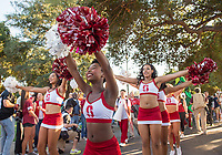Stanford, Ca. - September 9, 2017: The Stanford Cardinal vs the UCLA Bruins in Stanford Stadium. Final score Stanford Cardinal 58, UCLA Bruins 34.