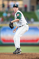 Fort Wayne TinCaps Miles Mikolas during the Midwest League All Star Game at Parkview Field in Fort Wayne, IN. June 22, 2010. Photo By Chris Proctor/Four Seam Images