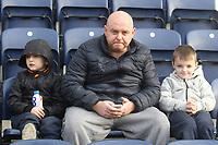 Preston North End's Fans anticipate the kick-off<br /> <br /> Photographer Mick Walker/CameraSport<br /> <br /> The EFL Sky Bet Championship - Preston North End v Aston Villa - Saturday 29th December 2018 - Deepdale Stadium - Preston<br /> <br /> World Copyright © 2018 CameraSport. All rights reserved. 43 Linden Ave. Countesthorpe. Leicester. England. LE8 5PG - Tel: +44 (0) 116 277 4147 - admin@camerasport.com - www.camerasport.com