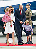 17.07.2017; Warsaw, Poland: PRINCE GEORGE, PRINCESS CHARLOTTE, KATE AND WILLIAM<br />arrive at Warsaw Military Airport, Warsaw at the start of their tour to Poland.<br />The royals will tour both Poland and Germany over the next five days.<br />Mandatory Photo Credit: &copy;Francis Dias/NEWSPIX INTERNATIONAL<br /><br />IMMEDIATE CONFIRMATION OF USAGE REQUIRED:<br />Newspix International, 31 Chinnery Hill, Bishop's Stortford, ENGLAND CM23 3PS<br />Tel:+441279 324672  ; Fax: +441279656877<br />Mobile:  07775681153<br />e-mail: info@newspixinternational.co.uk<br />Usage Implies Acceptance of OUr Terms &amp; Conditions<br />Please refer to usage terms. All Fees Payable To Newspix International