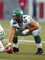 Jeremy O'Day Saskatchewan Roughriders 2003. Photo copyright Scott Grant.