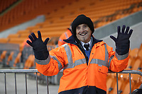 Stewards at todays match<br /> <br /> Photographer Rachel Holborn/CameraSport<br /> <br /> The EFL Checkatrade Trophy Group C - Blackpool v Accrington Stanley - Tuesday 13th November 2018 - Bloomfield Road - Blackpool<br />  <br /> World Copyright © 2018 CameraSport. All rights reserved. 43 Linden Ave. Countesthorpe. Leicester. England. LE8 5PG - Tel: +44 (0) 116 277 4147 - admin@camerasport.com - www.camerasport.com