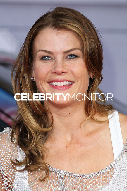 "HOLLYWOOD, LOS ANGELES, CA, USA - MARCH 11: Alison Sweeney at the World Premiere Of Disney's ""Muppets Most Wanted"" held at the El Capitan Theatre on March 11, 2014 in Hollywood, Los Angeles, California, United States. (Photo by Xavier Collin/Celebrity Monitor)"