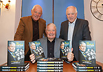 """Archie Knox launches his book """"The School of Hard Knox"""" with Walter Smith and Craig Brown"""