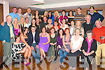 BIRTHDAY SURPRISE: Pamela Teahan, Shanakill, Tralee (seated 3rd left) got a big surprise when a big of family and friends gathered to celebrate her 40th birthday at the Abbey Inn, Tralee on Friday.