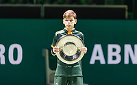 Rotterdam, The Netherlands, 17 Februari 2019, ABNAMRO World Tennis Tournament, Ahoy, Ballboy,<br /> Photo: www.tennisimages.com/Henk Koster