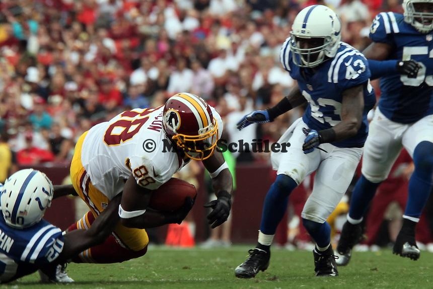 WR Pierre Garcon (Redskins) gegen CB Cassius Vaughn (Colts)