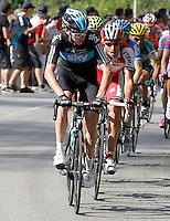 Chritopher Froome during the stage of La Vuelta 2012 between La Robla and Lagos de Covadonga.September 2,2012. (ALTERPHOTOS/Paola Otero) /NortePhoto.com<br /> <br /> **CREDITO*OBLIGATORIO** <br /> *No*Venta*A*Terceros*<br /> *No*Sale*So*third*<br /> *** No*Se*Permite*Hacer*Archivo**<br /> *No*Sale*So*third*