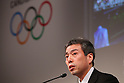 Tokuaki Suzuki, MARCH 6, 2013 : Tokuaki Suzuki attends a press conference about presentations of Tokyo 2020 bid Committee in Tokyo, Japan. (Photo by Yusuke Nakanishi/AFLO SPORT).