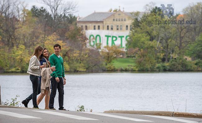 Oct. 7, 2014; MSM candids(Photo by Matt Cashore/University of Notre Dame)