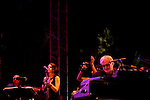Members of Steely Dan perform at the Coachella Valley Music and Arts Festival in Indio, California April 10, 2015. (Photo by Kendrick Brinson)