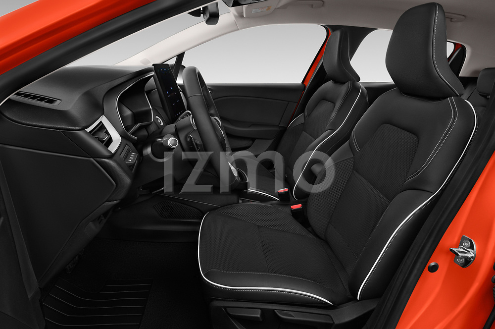 Front seat view of a 2020 Renault Clio Edition One 5 Door Hatchback front seat car photos