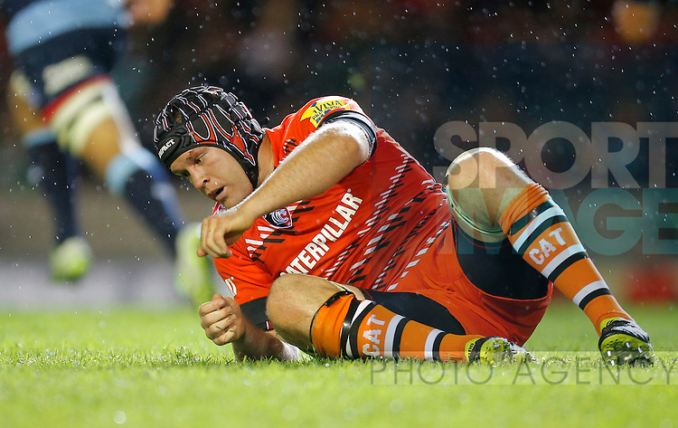 Julia Salvi in action for Leicester Tigers - Rugby Union - Leicester Tigers vs Cardiff Blues - pre-season friendly - Welford Road Leicester - 29th August 2014 - Picture - Malcolm Couzens/Sportimage