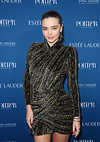 LOS ANGELES, CA - OCTOBER 9: Miranda Kerr, at Porter's Third Annual Incredible Women Gala at The Ebell of Los Angeles in California on October 9, 2018. Credit: Faye Sadou/MediaPunch