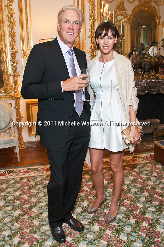 June 12, 2011 --  Friends of the Louvre Dinner at the US Ambassador to France's Residence