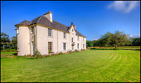 BNPS.co.uk (01202 558833)<br /> Pic: KnightFrank/BNPS<br /> <br /> Grade B listed main house....<br /> <br /> How the Ulva half live - Escape to your own Scottish island..If you have &pound;4.25 million to spare.<br /> <br /> This stunning Scottish island that inspired writers including Beatrix Potter and Sir Walter Scott has just gone on the market.<br /> <br /> Ulva is the second largest island of the Inner Hebrides at 4,583 acres, but the new owners will have to be happy going back to basics as it can only be reached by ferry, has no tarmac roads and just 16 people live there, mostly farmers.<br /> <br /> It is described by agents Knight Frank as one of the finest private islands in northern Europe and is on the market for the first time in more than 70 years.<br /> <br /> The sale includes a seven-bedroom house, a church, a restaurant and tea room, and eight other properties. There are also farm buildings to support the agricultural and livestock operation.