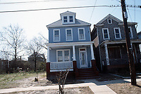 1986 March ..Redevelopment.Huntersville 1&2 (R-70)..863 B AVENUE.AFTER..NEG#.NRHA#..