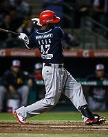 Jovan Rosa de los mayos juego de beisbol de la Liga Mexicana del Pacifico temporada 2017 2018. Quinto juego de la serie de playoffs entre Mayos de Navojoa vs Naranjeros. 6Enero2018. (Foto: Luis Gutierrez /NortePhoto.com)